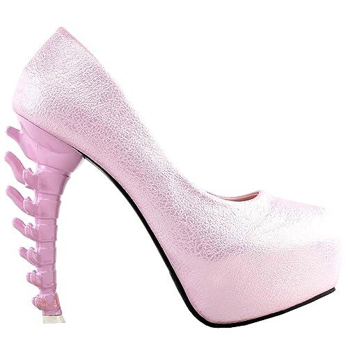 Amazon.com: SHOW STORY LF80610 - Zapatos de tacón para mujer ...