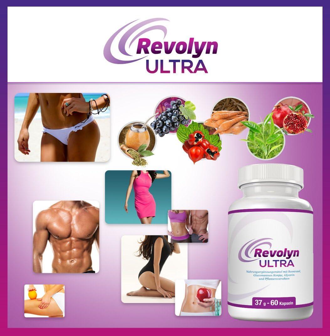 Revolyn Ultra Pilules dietetiques pour une perte poids efficace Lot flacons prix avantageux