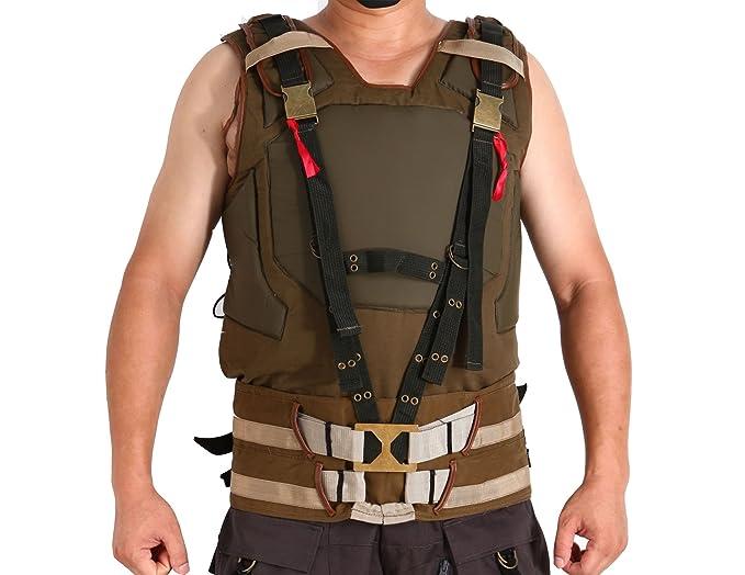 Tom Hardy Cosplay Costume TDKR Bane Coat Vest Size M  sc 1 st  Amazon.com & Amazon.com: Tom Hardy Cosplay Costume TDKR Bane Coat Vest Size M ...