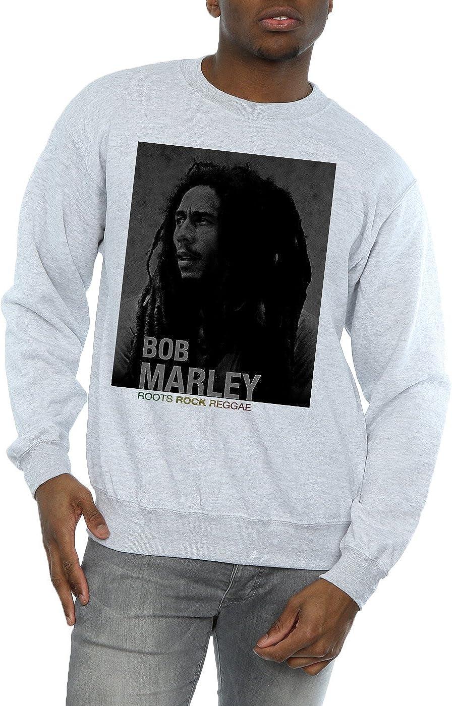 Bob Marley Hombre Roots Rock Reggae Camisa De Entrenamiento: Amazon.es: Ropa y accesorios