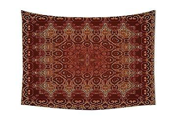 Antik Tapisserie Decor Vintage Lacy Persischen Arabisch Muster Von