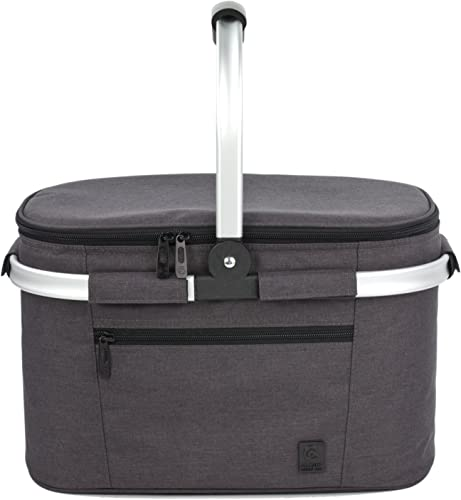 Insulated Collapsible Portable Cooler Bag (Picnic Basket Set) [Allcamp] Picture