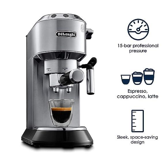 Amazon.com: Delonghi EC680M Dedica - Cafetera espresso ...