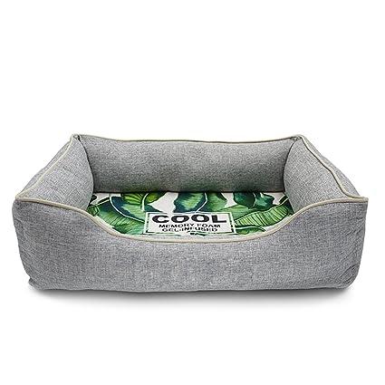 TYWZF Cama para Perros Soft Space Memory Algodón Desmontable Lavable Cuatro Estaciones Disponibles para Cama para