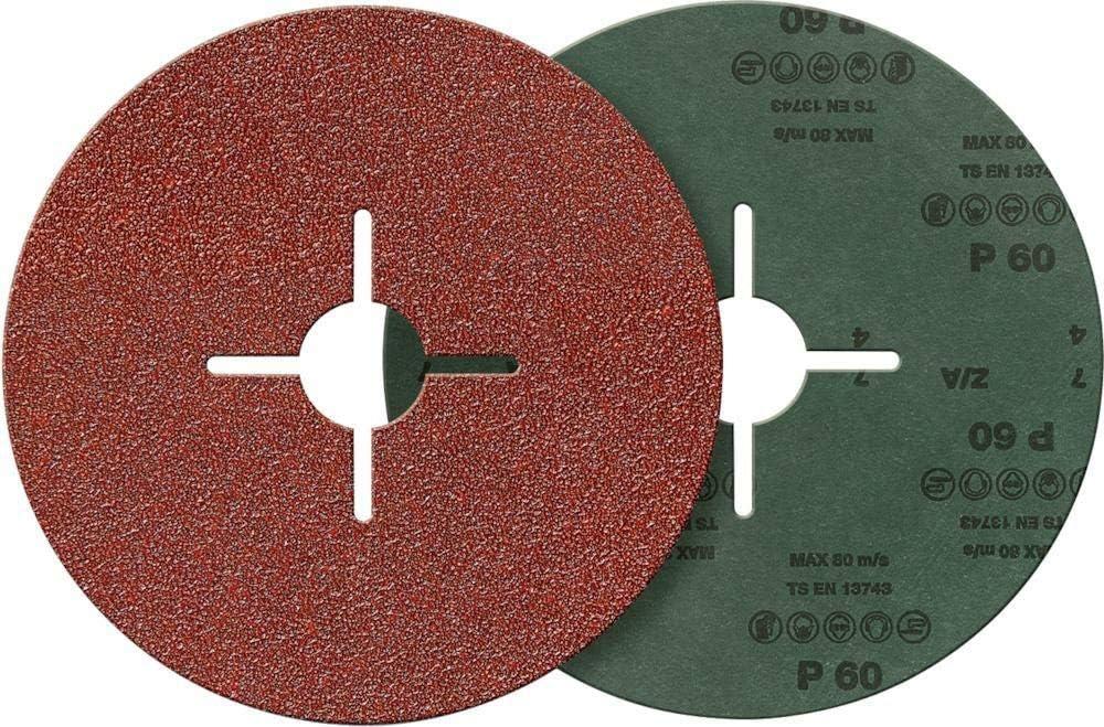 fortis Fiberschleifscheibe Korund 115 mm K 40