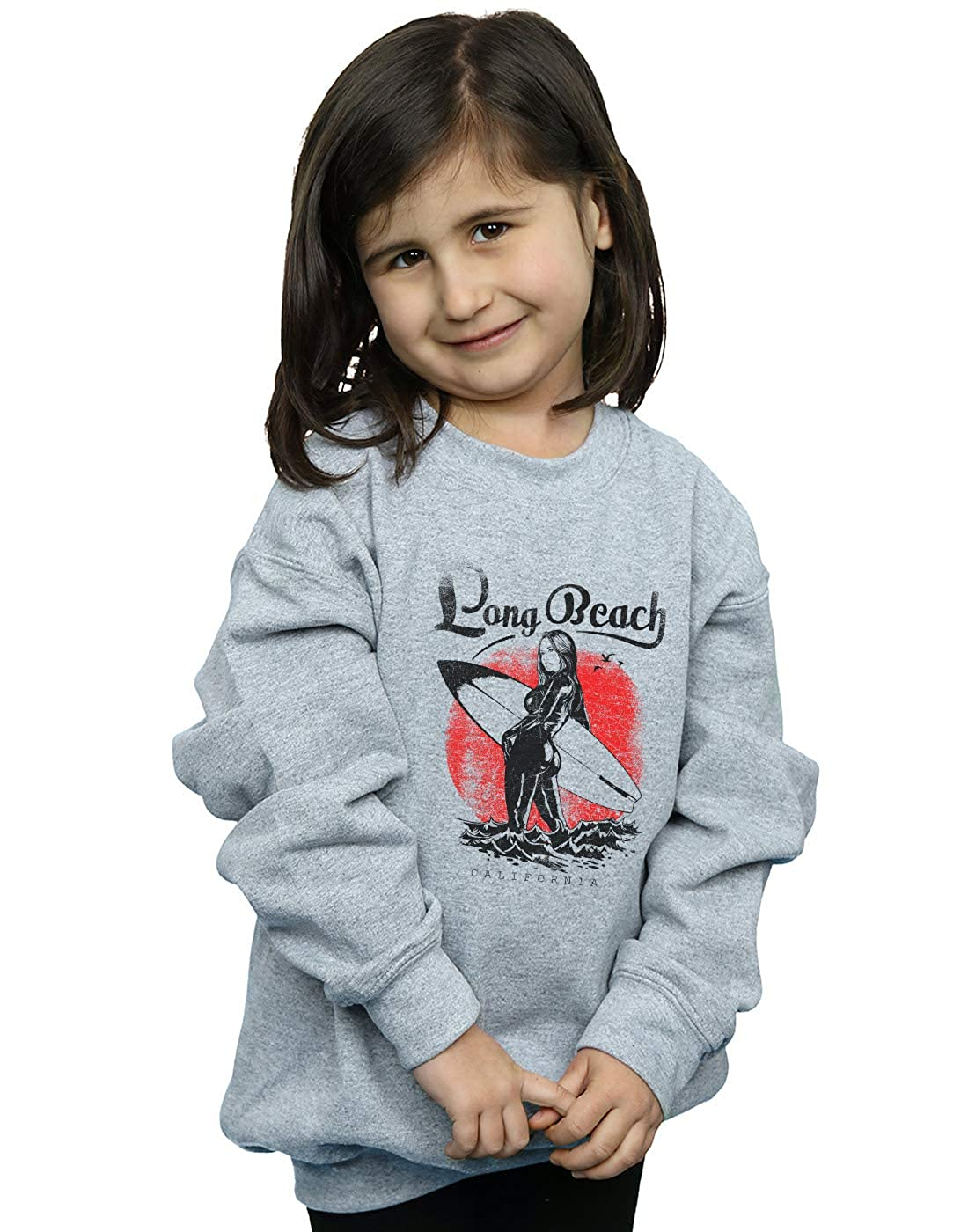 Absolute Cult Drewbacca Girls Long Beach Surfer Sweatshirt