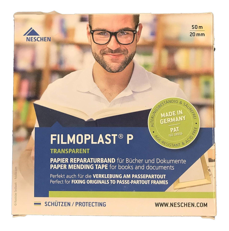 Neschen Filmoplast P Archival Mending Tape, .8 inch x 164 feet FBA_25360