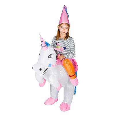 Bodysocks Kids Inflatable Unicorn Fancy Dress Costume: Clothing
