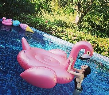 Casa jardín boya oro rosa cocodrilos boya gran flotador hinchable para fiestas de piscina juguete hinchable