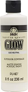 product image for FolkArt glow in the dark paint, 8 oz, Neutral 8 Fl Oz