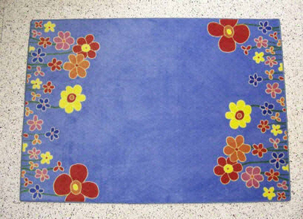 Carpet for Kids  Kinderteppich Blaumenhimmel 140 x 200 cm