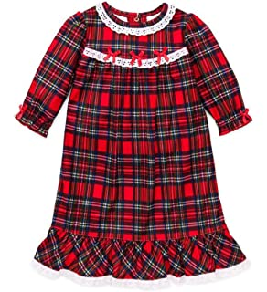 1d91ab1f70c1 Amazon.com  Boys Christmas Pajamas Infant or Toddler Plaid Red  Clothing