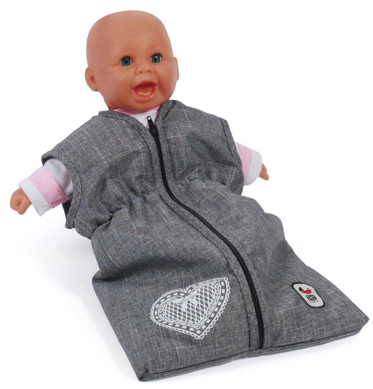 Amazon.es: Bayer Chic 2000 792 76 muñecas de Saco de Dormir para bebé muñecas, Jeans Gris: Juguetes y juegos