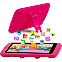 PROGRACE Kids Tablets Android 9 QuadCore 2GB RAM 16GB ROM Learning Tablet for Kids Girls Toy Gift with Parental Control…