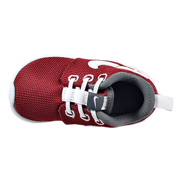 f9ea75115b376 Amazon.com  Nike  749430-603  Roshe ONE (TDV) Infants Sneakers NIKEGYM RED  White Dark Grey Rouge GYMM  Shoes