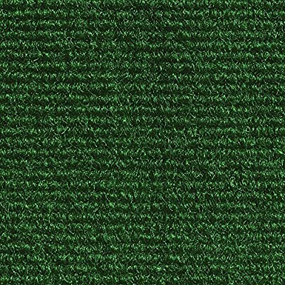 Indoor/Outdoor Carpet with Rubber Marine Backing - Several Sizes Available - Carpet Flooring for Patio, Porch, Deck, Boat, Basement or Garage - Brown