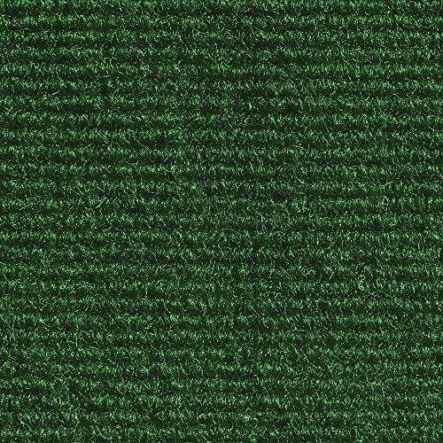 - House, Home and More Indoor Outdoor Carpet with Rubber Marine Backing - Green - 6 Feet x 10 Feet