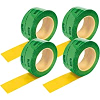 4ruedas (60mmx25m) cinta adhesiva verde Vapor freno cortavapor