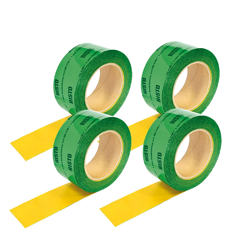 60mmx25m 4 Rollen Klebeband grün Dampfbremse Dampfsperrfolie