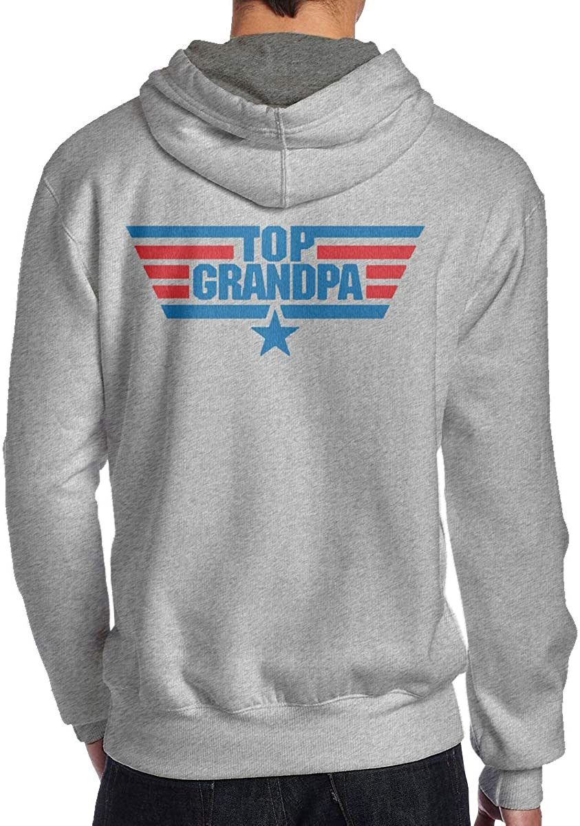 Top Grandpa Mens Hoodie Hooded Sweatshirt