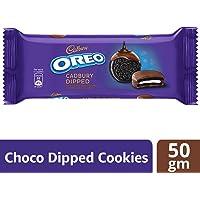 Cadbury Oreo Dipped Chocolate Cookie, 50g