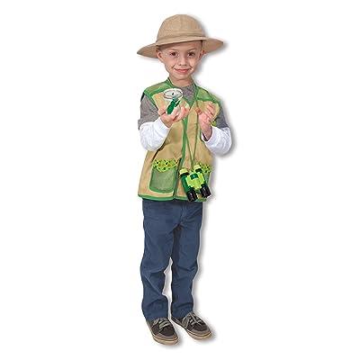 Melissa & Doug Backyard Explorer Role Play Costume Set With Binoculars, Bug Jar, and Hat: Melissa & Doug: Toys & Games