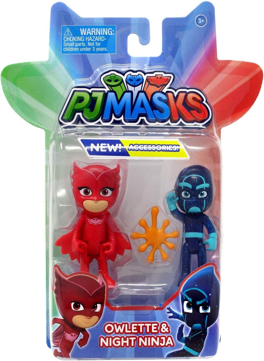 PJ Masks Figures - Owlette and Night Ninja