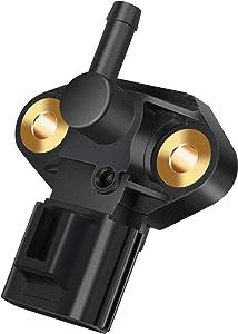 Fuel Rail Injection Pressure Sensor for Ford F150, F250 Super Duty, Focus, Explorer, Escape, Mustang, E-series, Lincoln, Mercury & More, Replaces# 3F2Z9G756AC, 3F2Z9F792CA, 3F2E-9G756-AD, 3F2Z-9G756-A