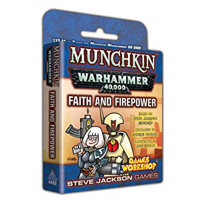 Munchkin Warhammer 40000 Faith and Firepower: Toys & Games