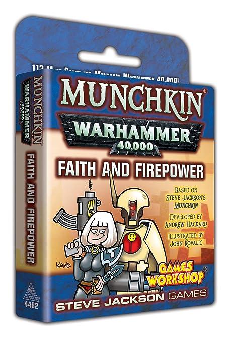 Amazon com: Munchkin Warhammer 40000 Faith and Firepower