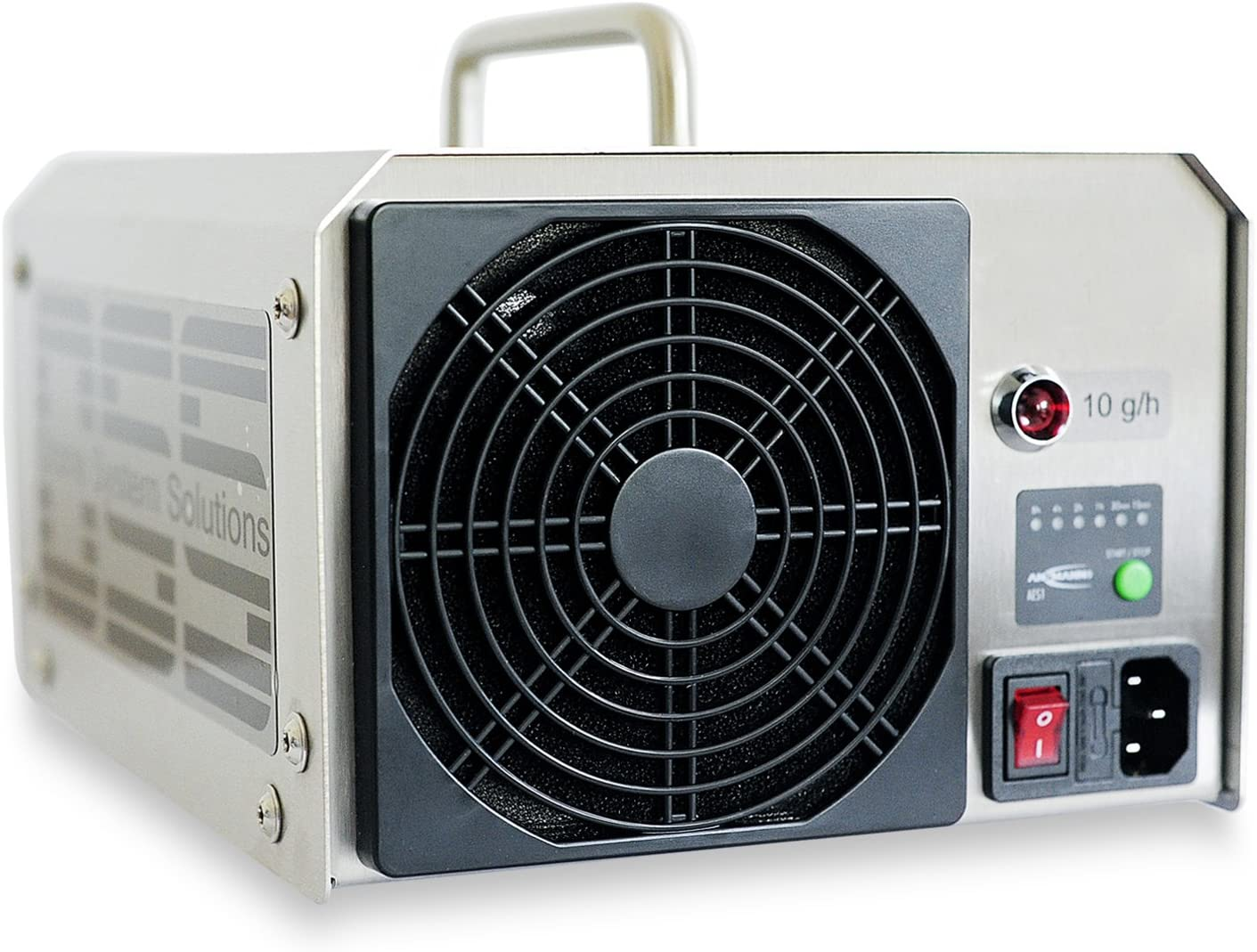 Generador de ozono profesional 10 g/h con lámpara UV – Fabricado ...