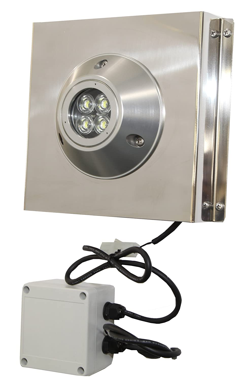 REGAR MARINE(リガーマリン) マリン用LED LED-20W BE M6ナベ 船尾集魚灯 10270/10271  白 B00D6AKEV6