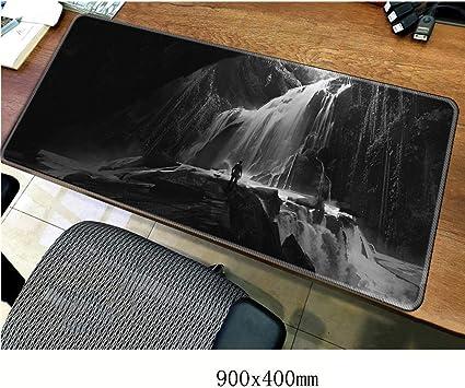 Uncharted 90 * 40 cm Gaming Mouse Pad Alfombrilla de ratón Grande Teclado portátil Consola de Juegos Base Antideslizante Grueso Cómodo Impermeable XXL-E: Amazon.es: Electrónica