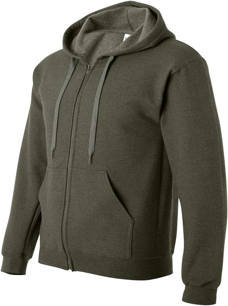 Gildan G187 Heavy Blend Vintage Full-Zip Hood