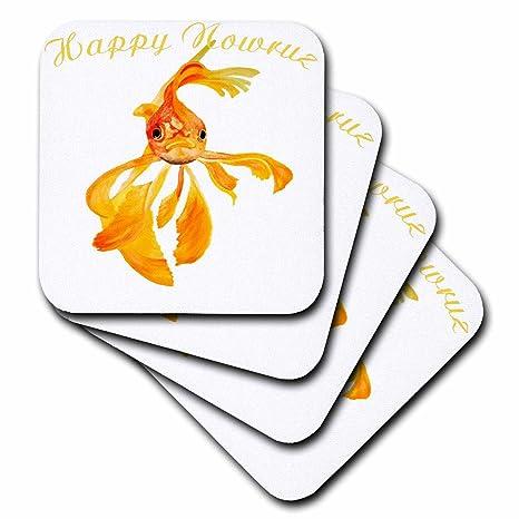 Amazon 3drose taiche greeting card happy nowruz happy 3drose taiche greeting card happy nowruz happy nowruz persian new year goldfish isolated m4hsunfo