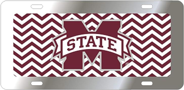 Craftique Mississippi State Bulldogs Camo Car Tag