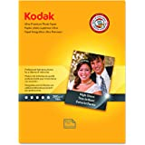 Kodak Ultra Premium Photo Paper for inkjet printers, Gloss Finish, 10.7 mil thickness, 8.5 x 11 inches, 25 sheets (8366353)