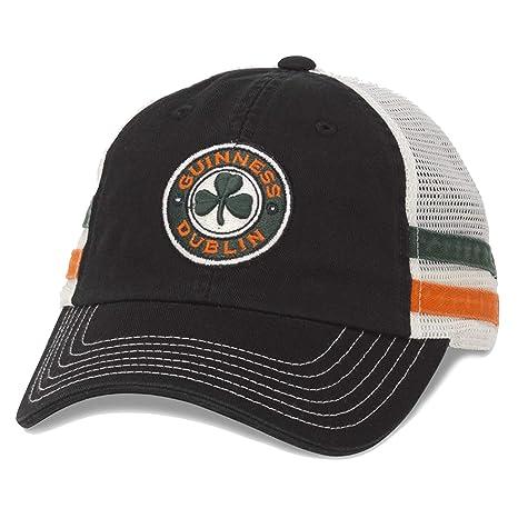 32ee6978d02 American Needle Guinness Foundry Soft Mesh Adjustable Snapback Baseball Cap