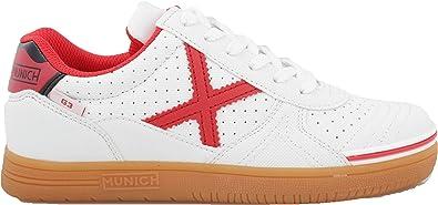 Munich , Herren Futsalschuhe Weiß weiß: : Schuhe