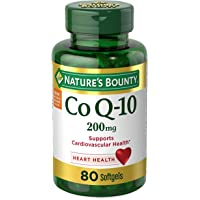 80-Count Nature's Bounty Co Q-10 200mg Softgels