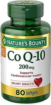 80-Count Nature's Bounty Co Q-10 200mg Softgels
