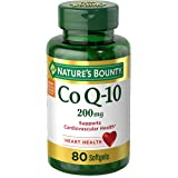 CoQ10 by Nature's Bounty, Dietary Supplement, Supports Heart Health, 200mg, 80 Softgels