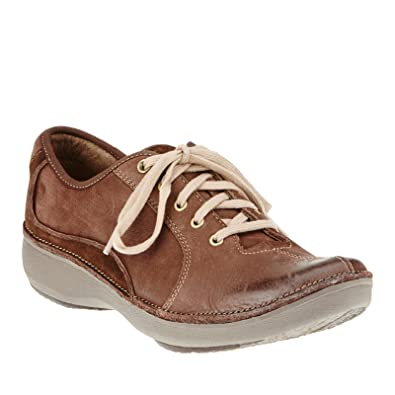 92149b44054c Clarks 64783 Womens Wave Drift Leather Brown Lea 12 M UK 10  Amazon ...