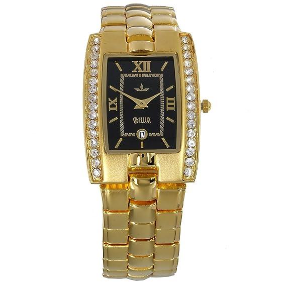 Black Oro Reloj Hombreseñor Louis De Xiv Bellux hsrxQtCd