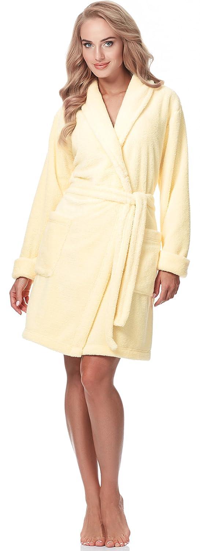 Merry Style Donna Accappatoio con collo sciallato 3S2B2LL2