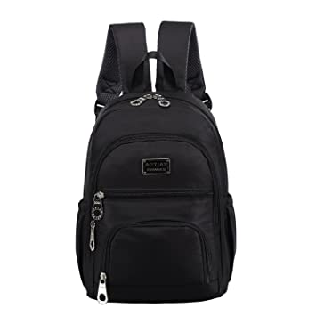 Amazon.com : AOTIAN Waterproof Nylon Women Backpacks Casual ...