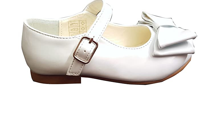 Freshbaffs Spanish Style Mary Jane Party Bow Shoes UK Infant Size 4- Youth  Size 2 New in: Amazon.co.uk: Shoes & Bags