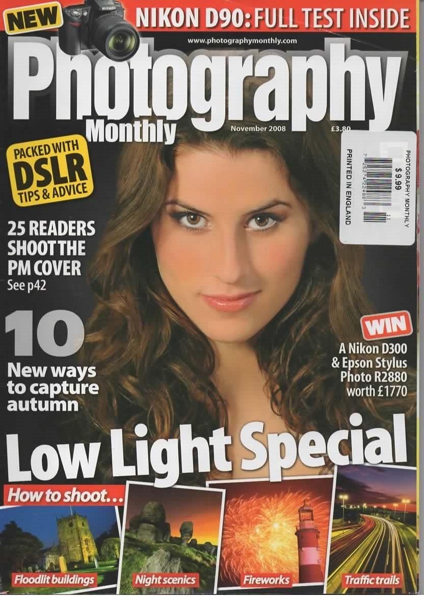 photography monthly magazine november 2008 issue 90
