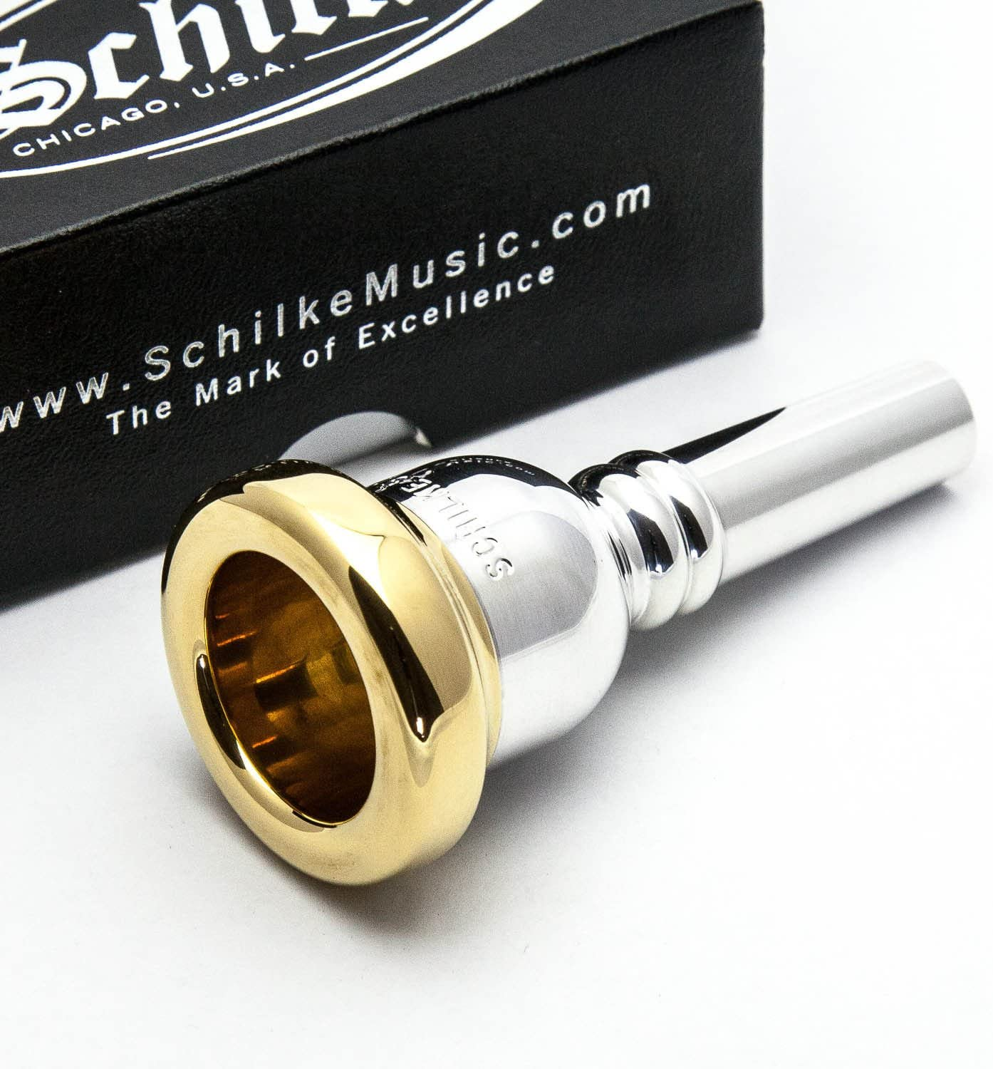 Genuine Schilke 27 24K Gold Rim /& Cup French Horn Mouthpiece NEW