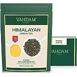 VAHDAM, Himalayan Green Tea Leaves (50+ Cups) I 100% NATURAL Green Tea I POWERFUL ANTIOXIDANTS I Best for Detox I Kombucha Te